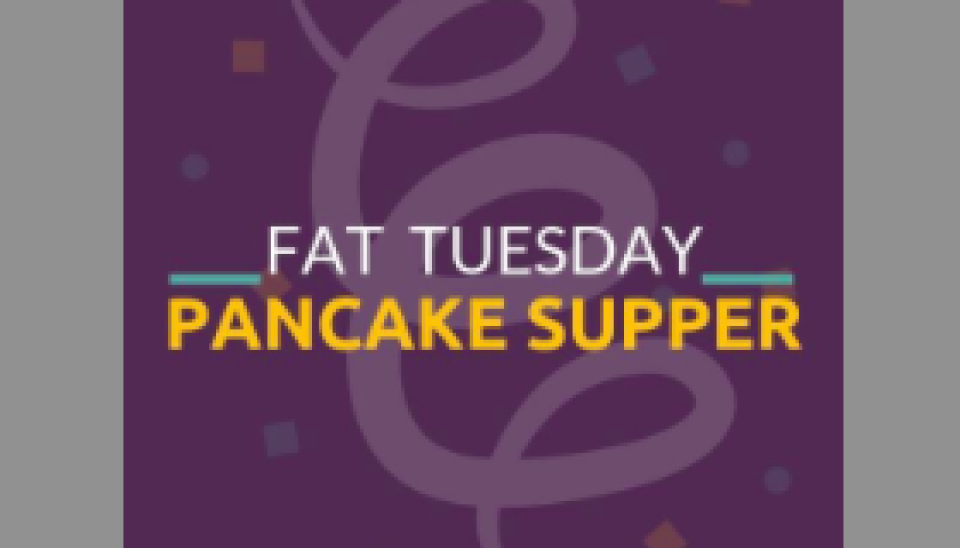 Fat Tuesday Pancake Supper Celebration